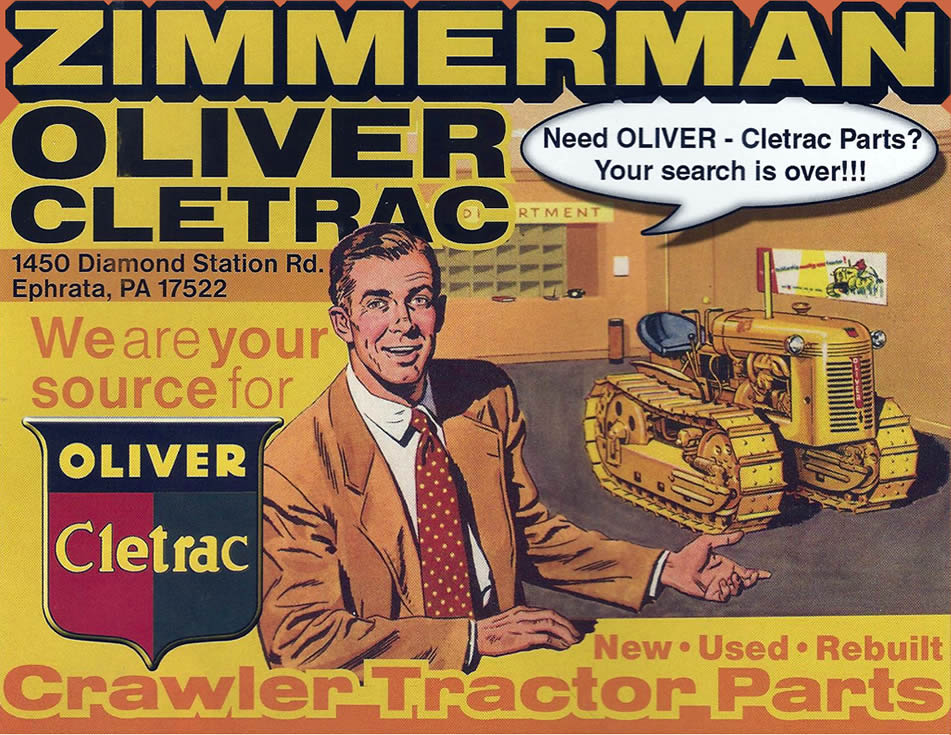 Zimmerman Oliver-Cletrac